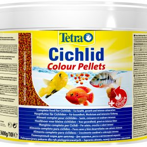 Tetra Cichlid Colour Pellets корм шарики для цихлид