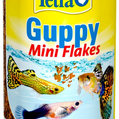 Tetra Guppy Mini Flakes корм хлопья для всех видов гуппи и других живородящих рыб (12 гр)